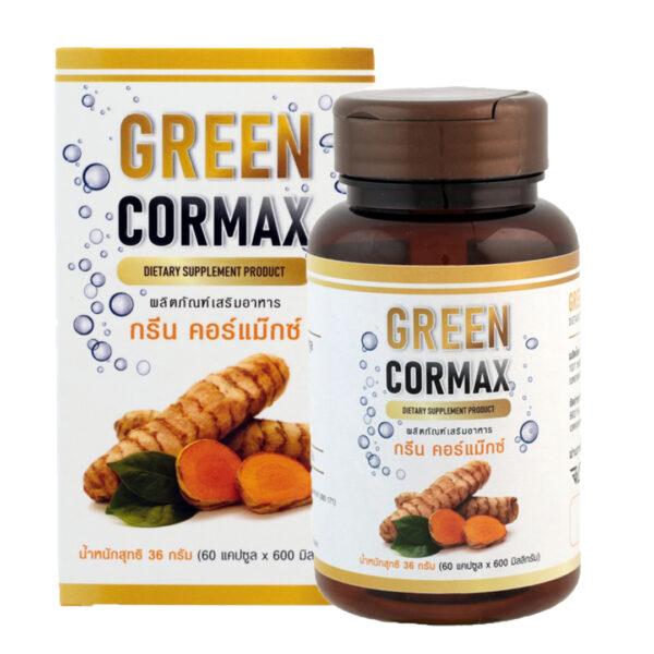 green cormax แก้ปัญหากรดไหลย้อน